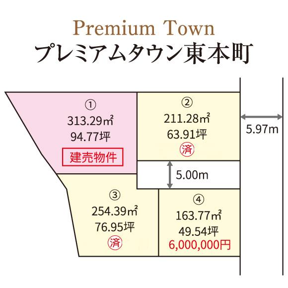プレミアムタウン東本町