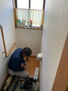 トイレ入替3